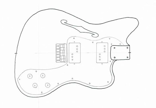Chambered/Thinline Jazzmaster Build - OffsetGuitars.com