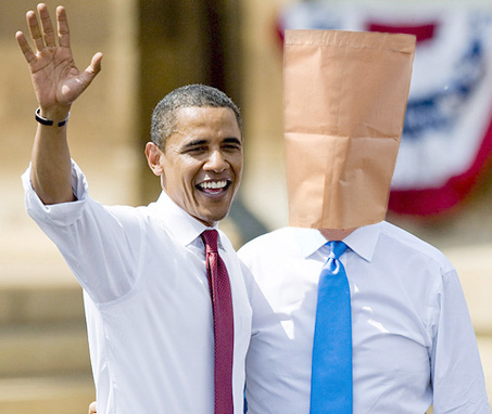 Jacob Freeze with Barack Obama