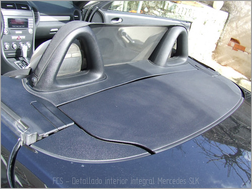 Mercedes SLK detallado interior-14