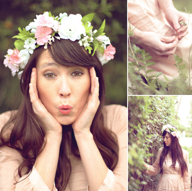 Secret Garden Outfit Styled by Alice Baxley inspired by Virgin Suicides and Alexa Chung Dress