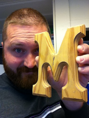 Today is brought to you by the letter M.