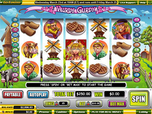 Hurdy Gurdy slot game online review