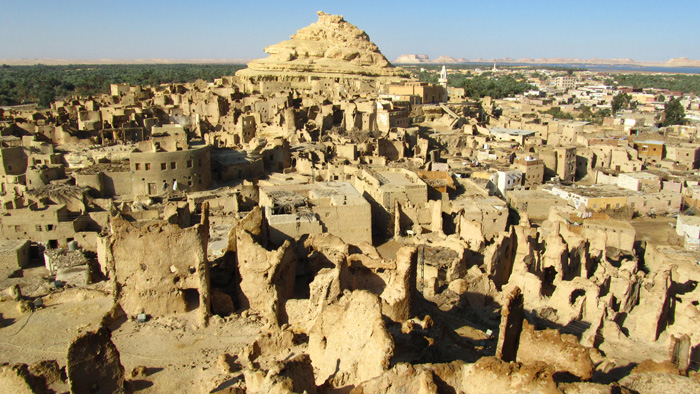 Siwa Oasis Ruins