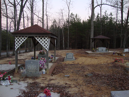 Shiloh Cemetery Graveshelters, Lawrence County AL