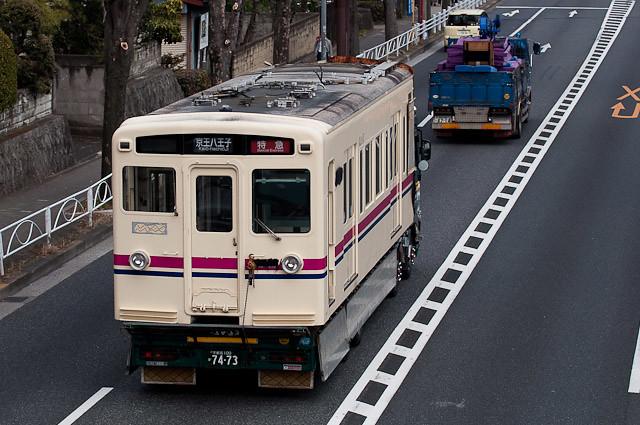 京王電鉄6000系 クハ6867 搬出0224