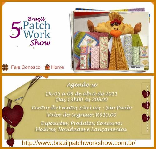 5ª Brazil Patchwork Show by Cantinho da Aracy