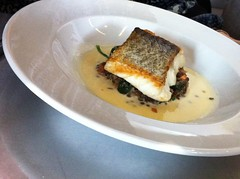 Roasted North Atlantic Cod at Cafe Fish, Leith