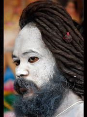 INDIA (BoazImages) Tags: nepal portrait india face dreadlocks beard asia faces indian tr