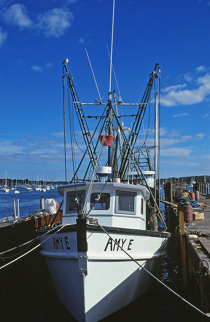 Fishing boat Amy E, Newport, RI 1990