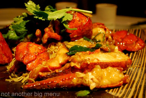 Pearl Liang, London - Lobster noodle £33