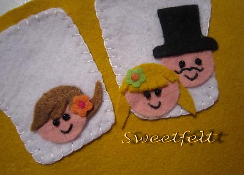 ♥♥♥ Olá!!!! by sweetfelt \ ideias em feltro