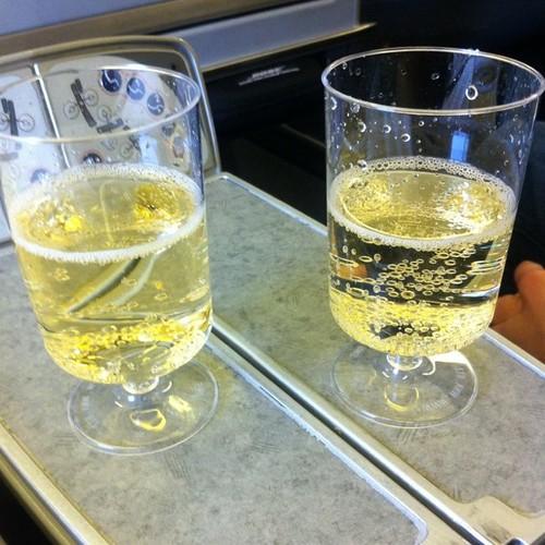 Cheers! We're off!