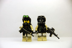 Biohazard Private Military Contractors (Saint_Zvlkx) Tags: lego custom ki brickarms amazingarmory