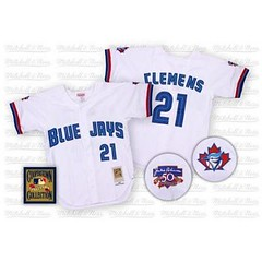 Toronto Blue Jays #21 Roger Clemens White Home Jersey (Terasa2008) Tags: jersey torontobluejays  cheapjerseyswholesale cheapmlbjerseys mlbjerseysfromchina mlbjerseysforsale cheaptorontobluejaysjerseys