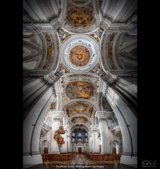 Swabian Gem - Weingarten, Germany (HDR Vertorama) (farbspiel) Tags: panorama church photoshop germany logo geotagged religious temple photography nikon worship religion kirche wideangle handheld stitching photomerge stitched dri deu hdr watermark hdri superwideangle 10mm postprocessing badenwürttemberg weingarten ultrawideangle d90 photomatix wasserzeichen tonemapped tonemapping watermarking vertorama topazadjust topazdenoise klausherrmann basilikastmartin topazsoftware sigma1020mmf35exdchsm topazinfocus geo:lat=4780932134 geo:lon=964467645