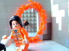 Portal 1 (Imagination Customs) Tags: 1 aperture lab gun perspective science laboratory portal forced chell lgo stokedforportal2