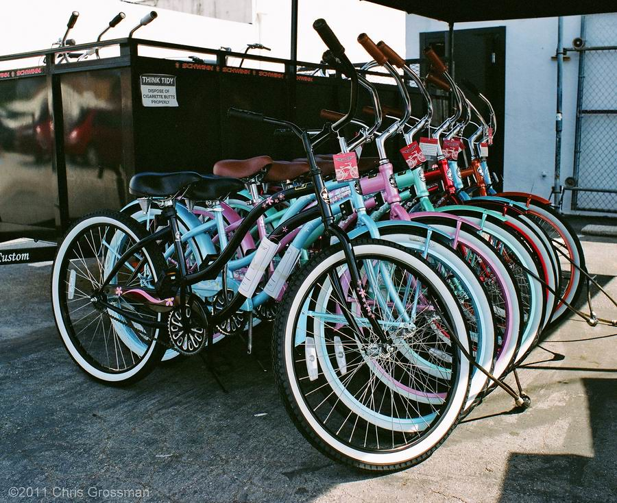 Chubby's Cruisers Bicycles Culver City - Pentax 6x7 55mm f/3.5