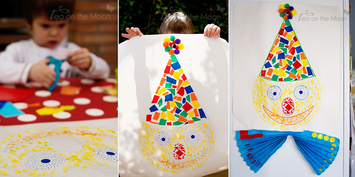 Mosaico payaso art&craft011 ToM
