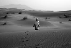 Step into the desert (ross_123) Tags: africa sahara trekking walking nikon desert native footprints morocco berber maroc nomad local d200 nikkor lproam
