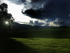 My Fevorite Place (Dari_Extension) Tags: peopleandplaces myfevoriteplace green darknessandlight cloudandsky raincoming rainycloudy