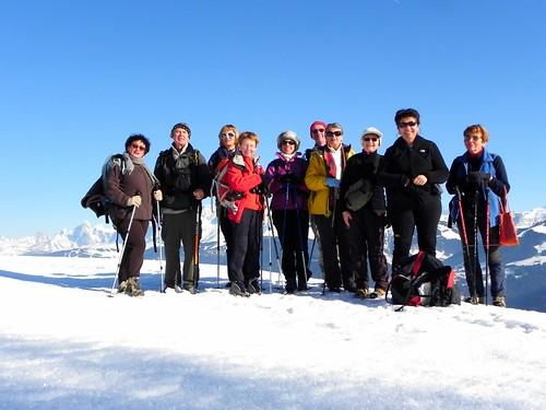 Devant le Mont Blanc Passieu 068B