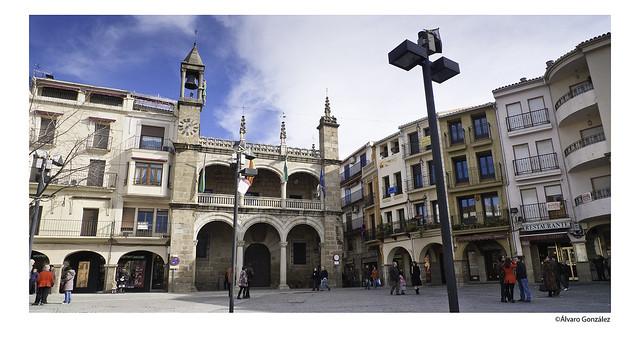 Plaza del Ayuntamiento de Plasencia