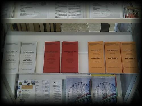 HelMet-kirjaston kevään yhteystiedot