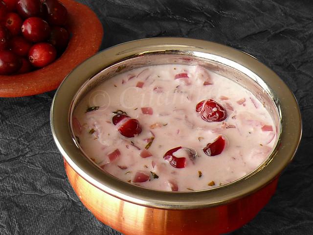 Cranberry Pachadi