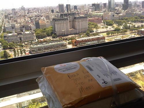 Paula Bongiovanni compra en Estados Unidos desde Argentina