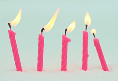 celebrate little things (Shandi-lee) Tags: birthday pink blue winter white snow cute fun fire soft candles girly pastel january celebration flame celebrate quirky birthdaycandles pinkcandles crosscolouring pinkbirthdaycandles