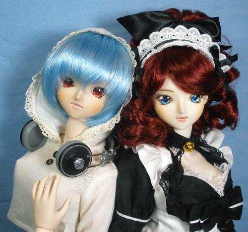Yumi and Miyu