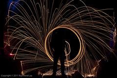 (Mondino1980) Tags: blue light shadow red 3 vortex man flower london wool wheel train fire dance jump wire rust track ghost orb 8 tunnel led raymond lay armed connaught mondino murphyz