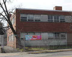 the old Tenley library, just before demolition (by: Kyle Walton, creative commons license)