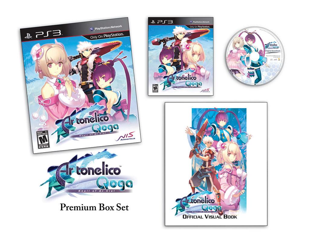 Ar Tonelico Qoga Premium Edition
