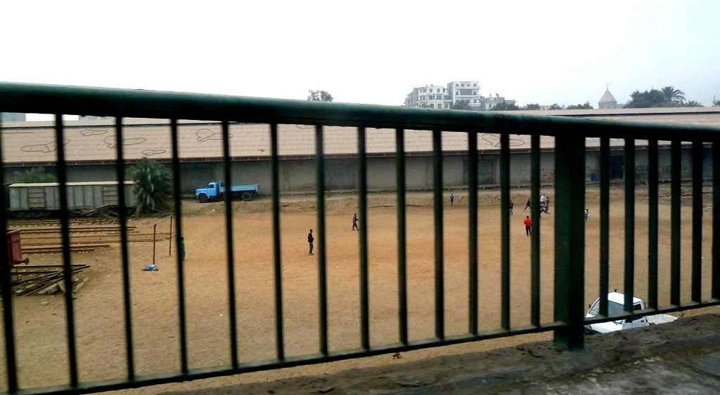 Egypt football pitch 1