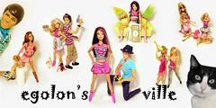 egolon's ville (egolon) Tags: wild cat dolls girly sassy ken barbie cutie artsy glam sweetie burbuja sporty trolls playmobil fashionistas hotie fashionfever toystory3
