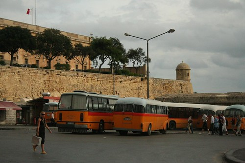Bus Airport to Valletta Transportation