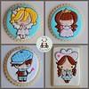Cookies for Kay (Sweet Pudgy Panda) Tags: cookie royal sugar icing greetingfarm sweetpudgypanda
