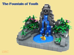 The Fountain of Youth (2 Much Caffeine) Tags: lego pirates fountainofyouth moc potc4 onstrangertides betterbebetterthan2and3ortherewillbetrouble