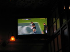Scotland vs England at the pub