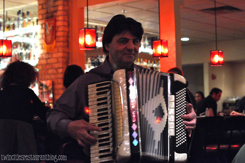 Accordian Player at Moscow on the Hill ~ St Paul, MN