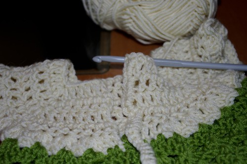 Baby sweater #3 - edging