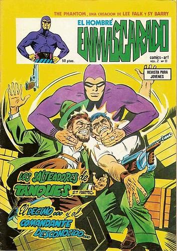 028-El hombre enmascarada-ediciones Vertice-Vol2 nº 11