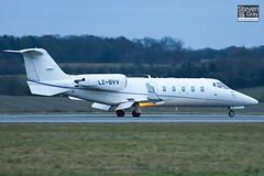 LZ-BVV - 60-203 - Air VB - Learjet 60 - Luton - 110127 - Steven Gray - IMG_8541