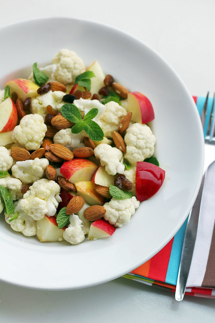 Cauliflower, Apples and Almonds
