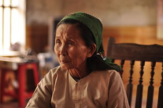Untitled (Tay | Photography) Tags: woman scarf photography vietnamese head vietnam tay elderly ba ao northern | thaibinh anlap