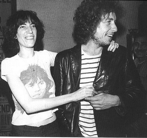 patti-smith and bob-dylan