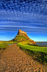 Cobbles and sky (Tony Shertila) Tags: england sky castle weather europe day britain northumberland northumbria hdr holyisland lindisfarne gmt colorphotoaward lighthdr platinumheartaward 100commentgroup mygearandme mygearandmepremium mygearandmebronze mygearandmesilver mygearandmegold mygearandmeplatinum mygearandmediamond prtlycloudy