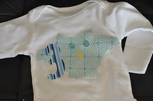 Owen's 3 month shirt