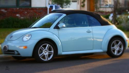 Volkswagen Beetle Baby Blue